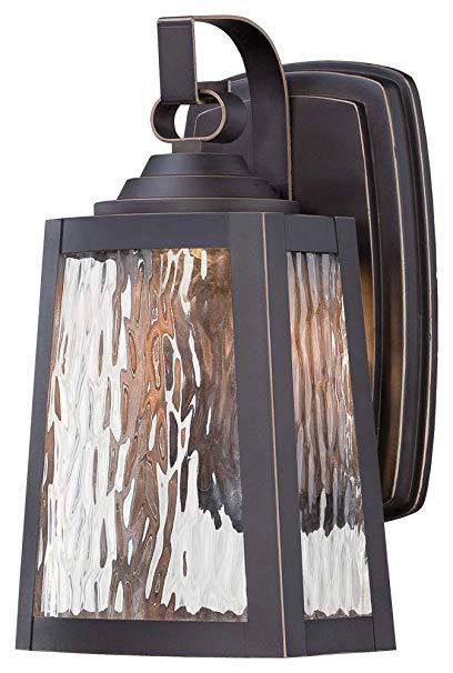 Minka Lavery Outdoor Wall Light 73101-143C-L Talera Exterior LED Wall Lantern, Bronze