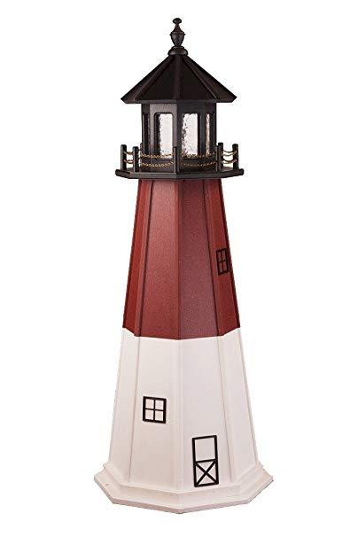 Poly Barnegat Lighthouse Replica 5' High