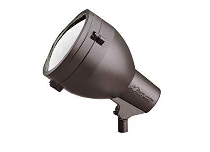 Kichler 15251AZT HID High Intensity Discharge Accent 1-Light 120V, Textured Architectural Bronze