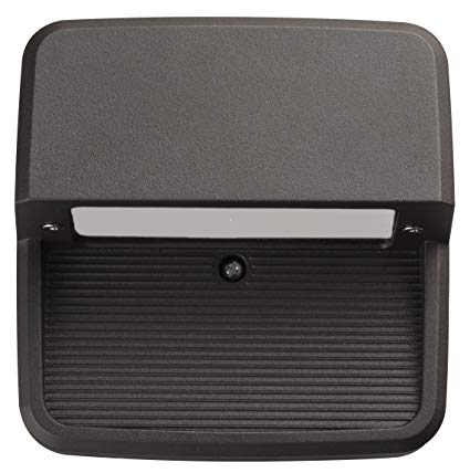 Lithonia Lighting OLSS DDB M6 Outdoor LED Step Light Square, Black Bronze