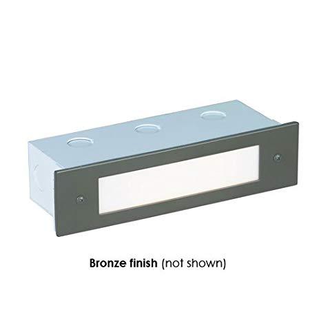 Corona Lighting CL-366-BZ 36W Low Voltage Rectangular Recessed Slip Step Light, Bronze - 8