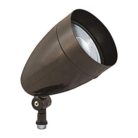 RAB HBLED10A - 10 Watt - LED - Landscape Lighting - Flood Light Fixture - 120/208/240 Volt - Bronze Finish