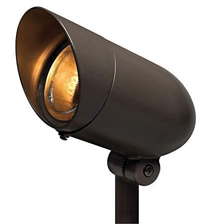 Hinkley Lighting 54000BZ 120V Line Voltage Small Spot Light, PAR16 or PAR20 75 Watt Maximum Light Bulb, Bronze