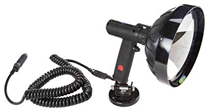 5 million Candlepower 12 Volt Spotlight with Magnetic Base - HML-8(-7 inch-12vdc)